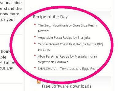 Recipe of the Day screenshot 1