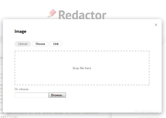 Redactor - There's also an image & upload manager included with all Redactor editors as well