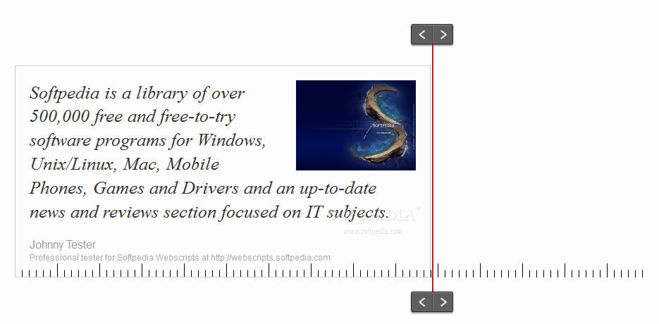 Responsive Elements - As the width of the rendering device is reduced, content is shuffled around