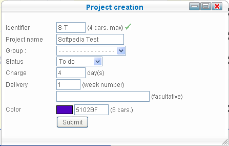 SO Planning - Create project