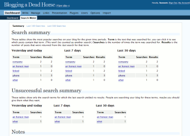 Search Meter screenshot 1