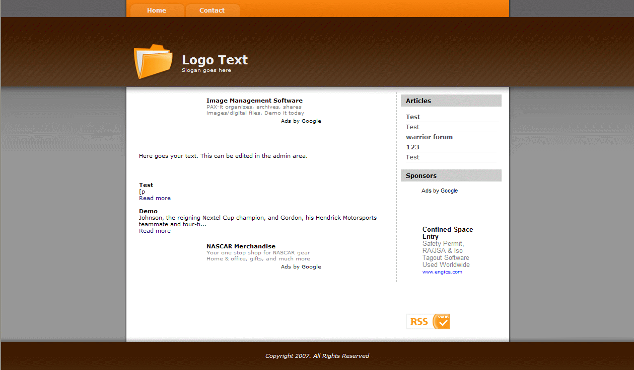 Simple Article Management screenshot 2