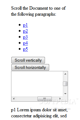 Smooth Scroll Plugin - The plugin can add navigational controls to a page, which will scroll the viewport accordingly