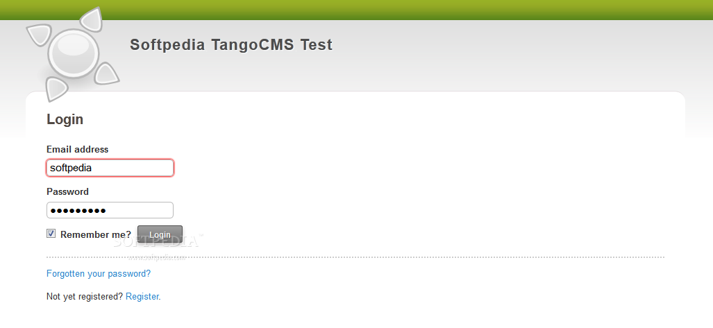 TangoCMS screenshot 2