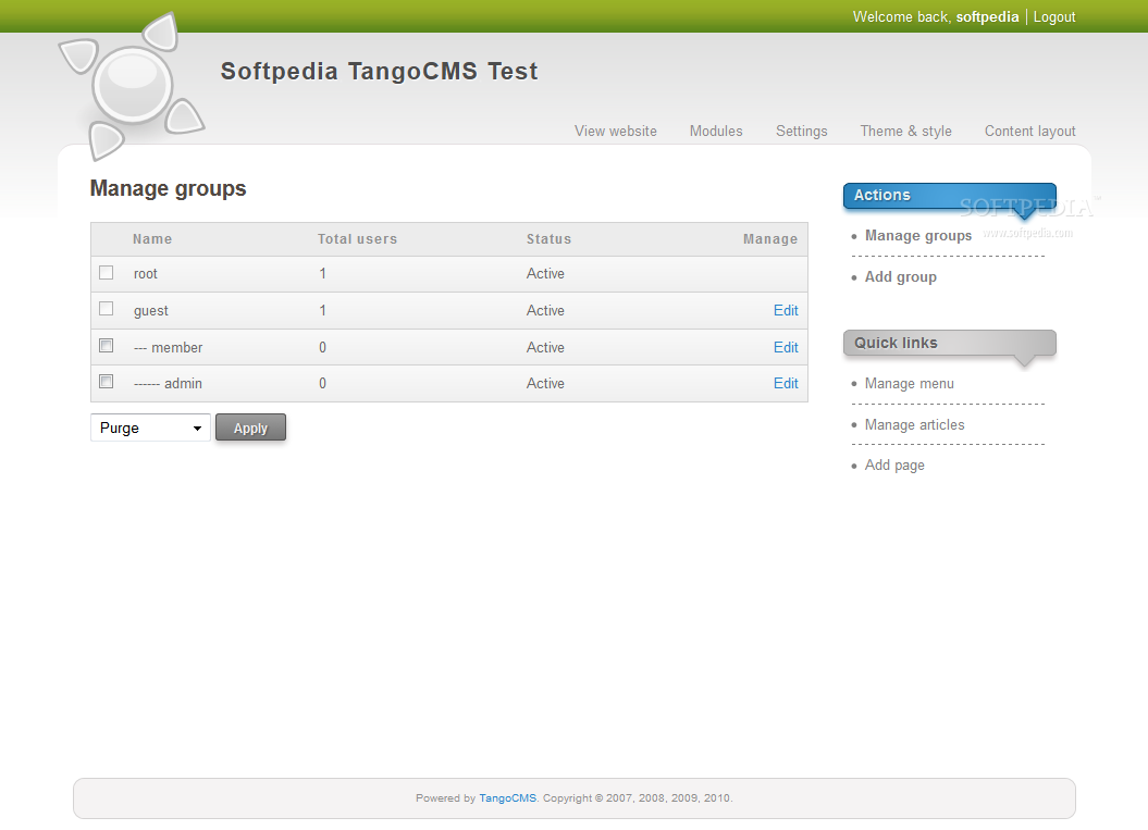 TangoCMS screenshot 21