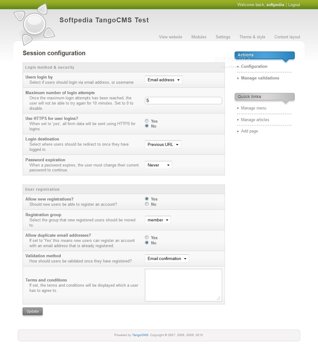 TangoCMS screenshot 24