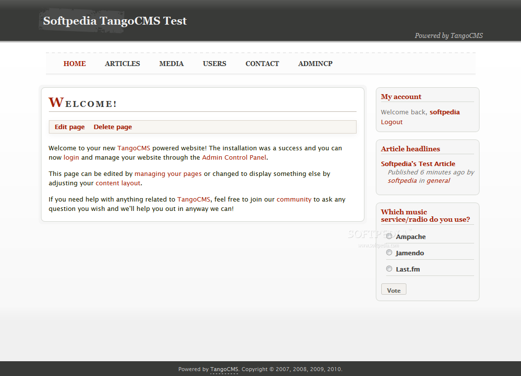 TangoCMS screenshot 25