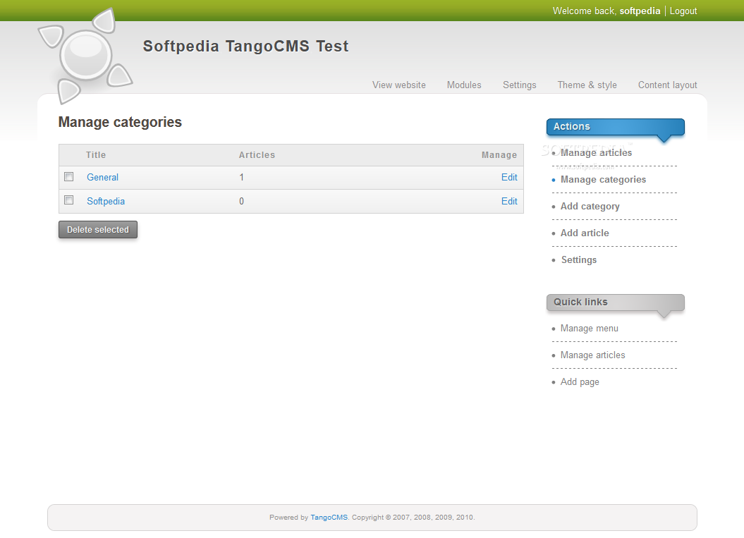 TangoCMS screenshot 8