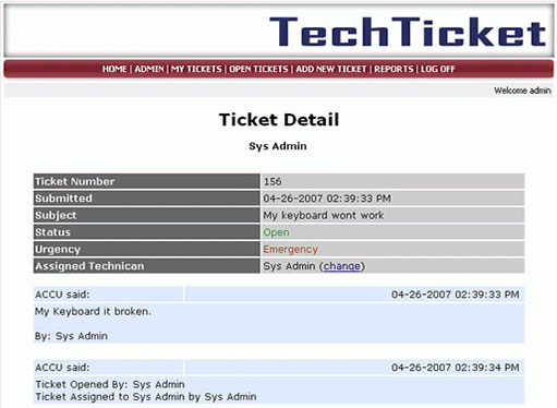 Tech Tickets screenshot 1