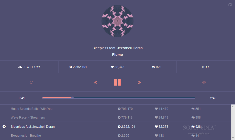 ToneDen Player - ToneDen Player allows developers to play SoundCloud music using a beautiful, customizable interface