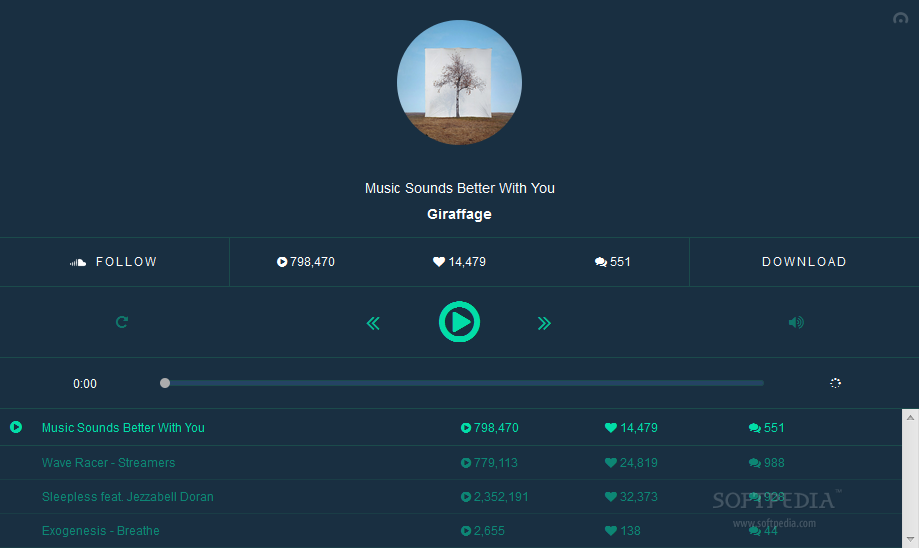 ToneDen Player - The ToneDen Player allows developers to assemble custom playlists together