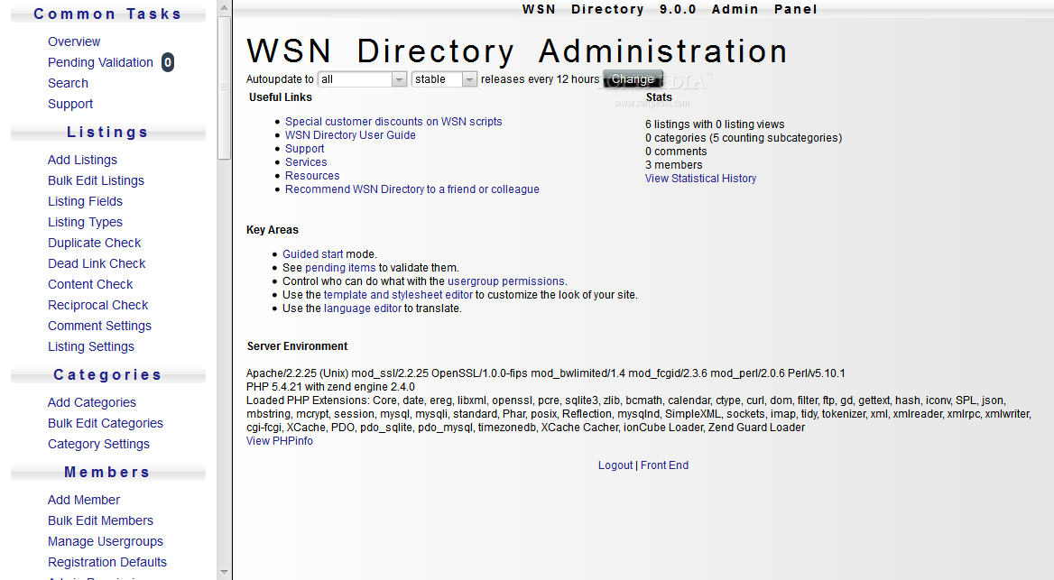 WSN Directory