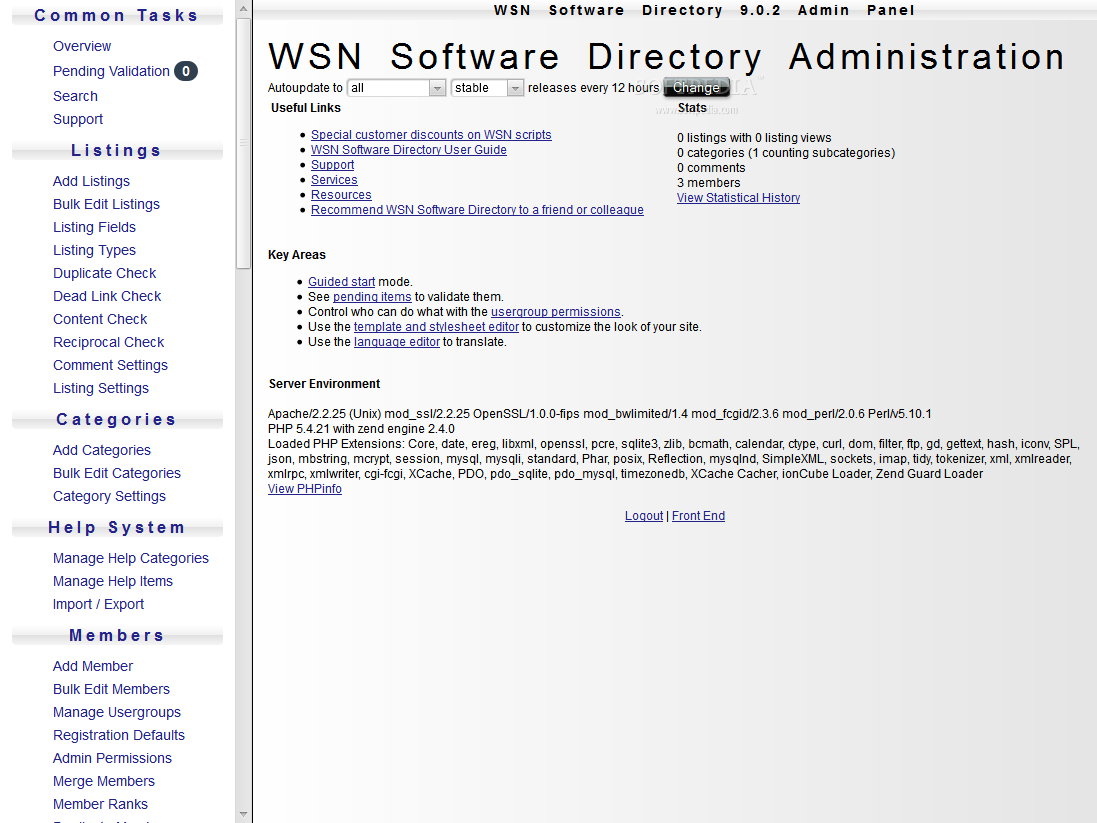 WSN Software Directory