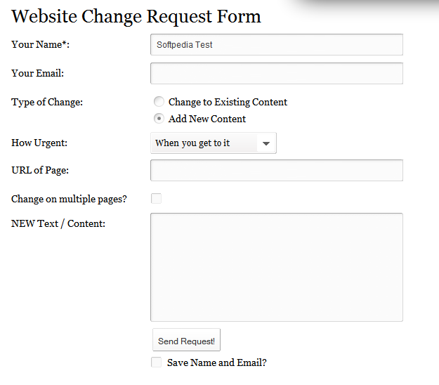Site to site vpn request form template - Window framework 4.5