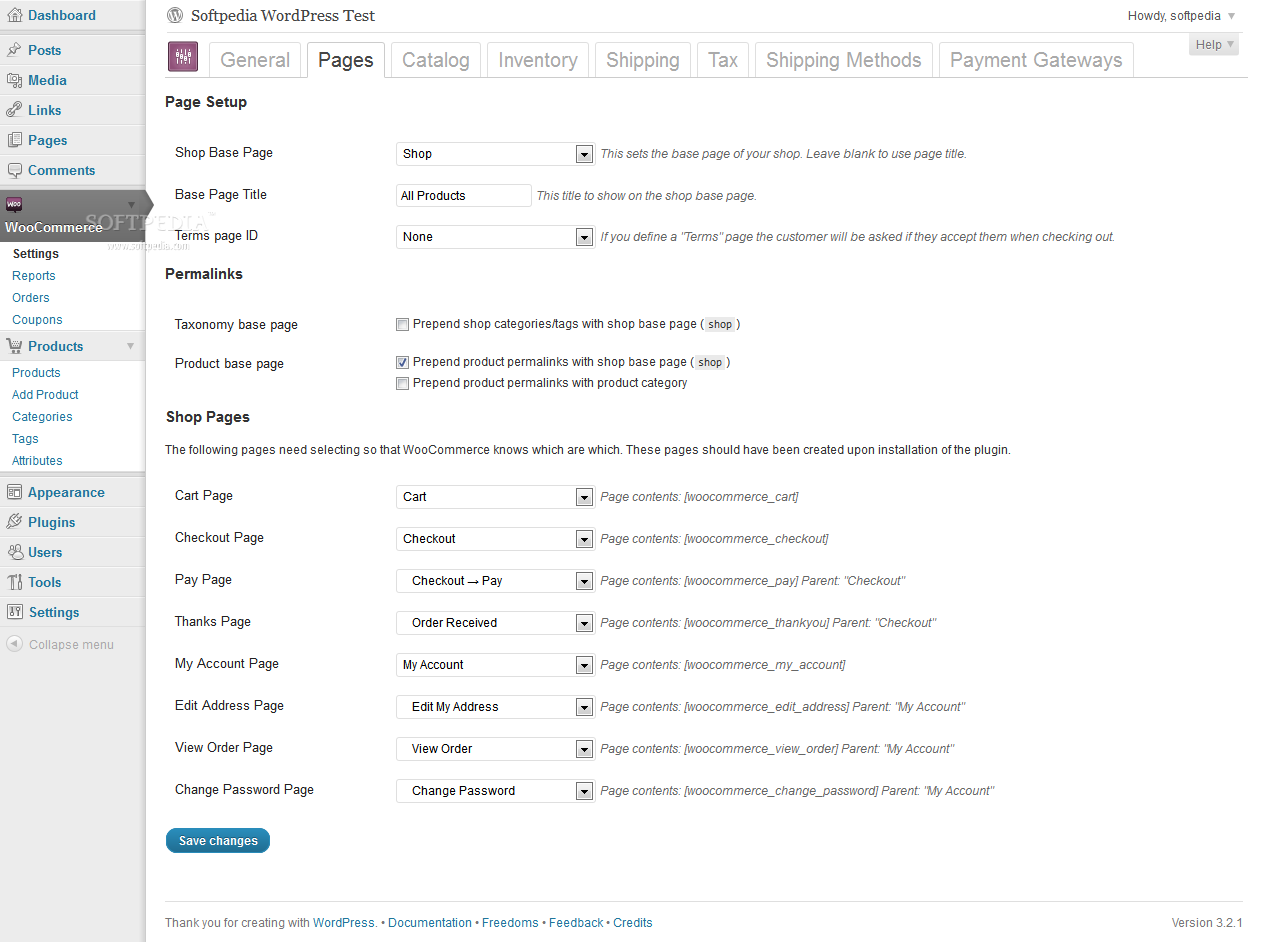WooCommerce screenshot 2