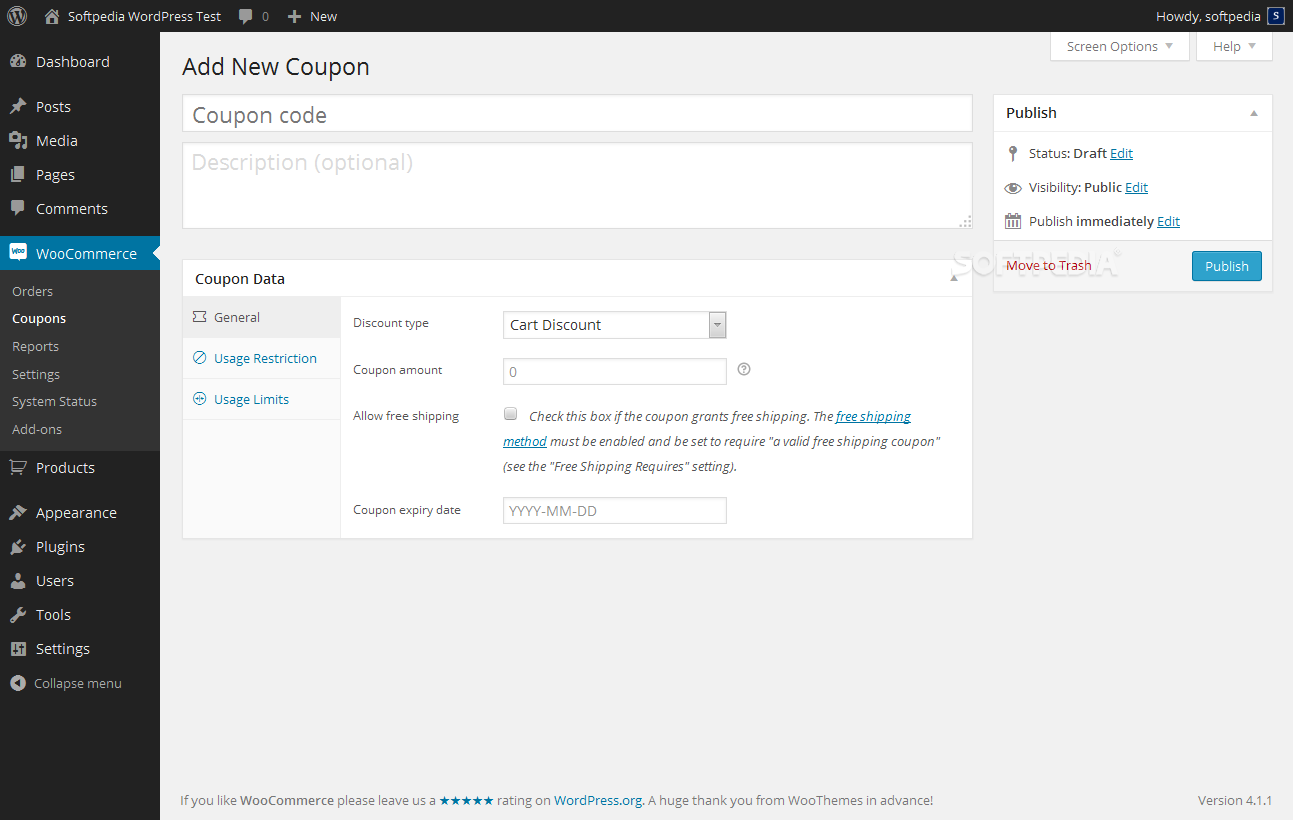 WooCommerce - screenshot #13