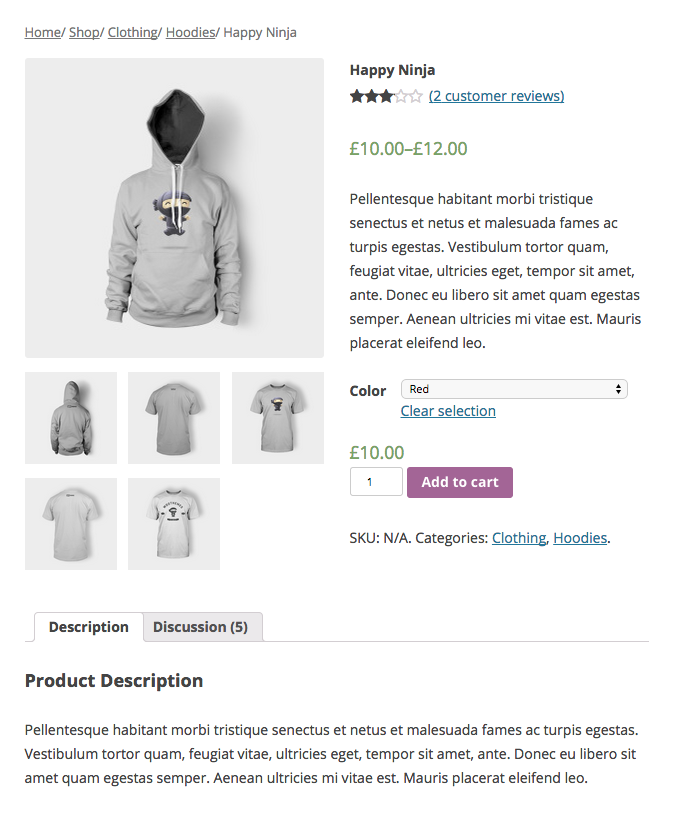 WooCommerce - screenshot #18