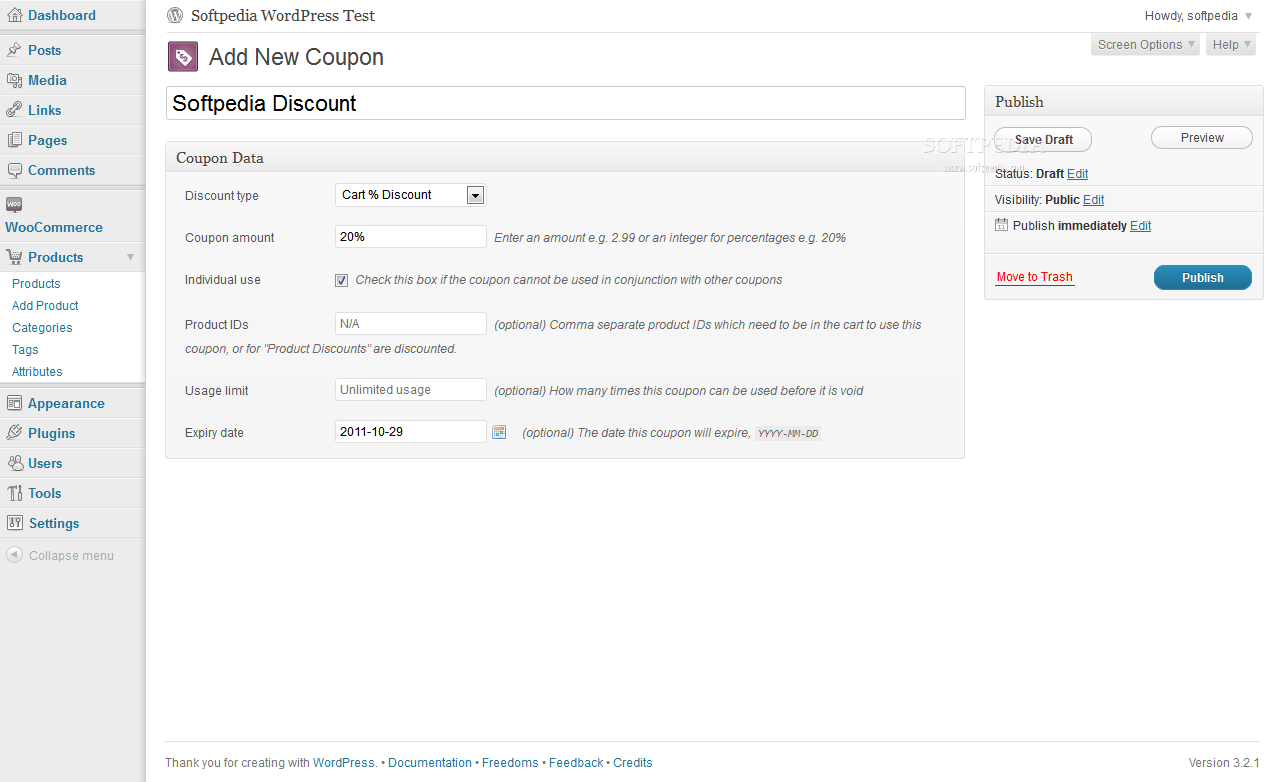 WooCommerce screenshot 9