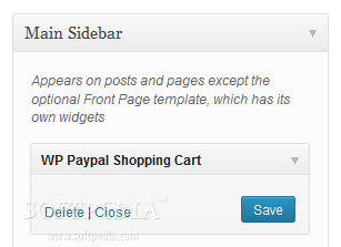 WordPress Simple Paypal Shopping Cart - A sidebar widget that produces the shopping cart is included