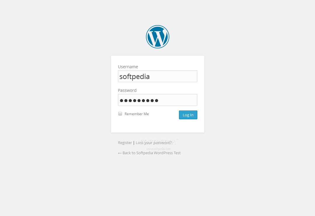WordPress - A special login page ships with WordPress, for logging in on the site or the backend