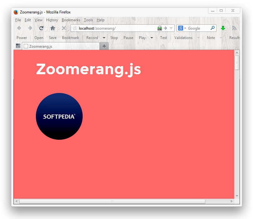 Zoomerang.js - Zoomerang.js works with images embedded on a page, expanding them when clicked