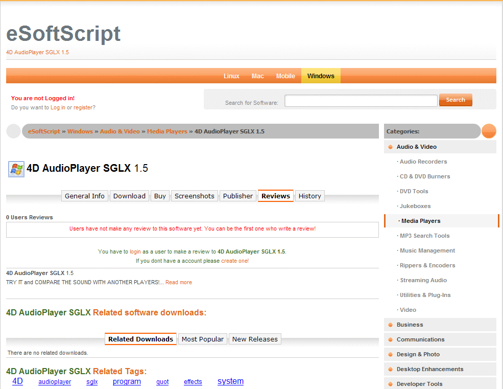 eSoftScript screenshot 3