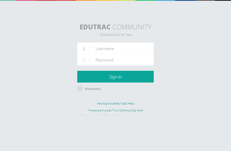 eduTrac - The eduTrac portal is password protected