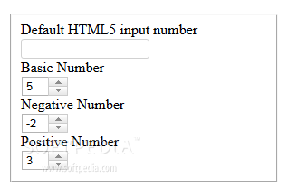 jQuery HTML5 like input number - The 'jQuery HTML5 like input number' plugin will transform a number input field, adding +/- buttons to it