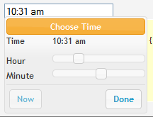 jQuery Timepicker Addon - Developers can filter the popup and show just the time picker