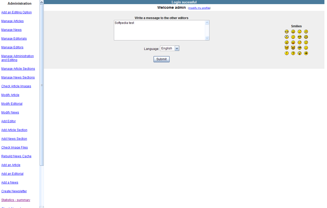 pHpWebziner screenshot 4