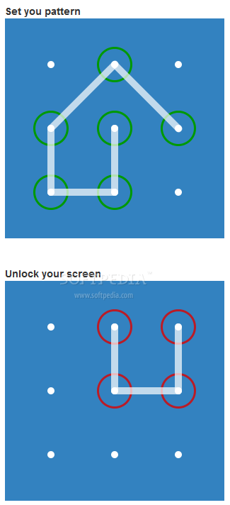 patternLock - patternLock can be used to create Android-like lock and unlocking systems