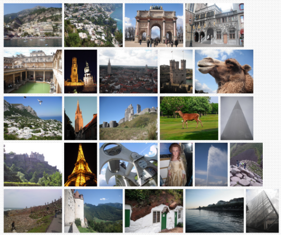 photoWall.js - photoWall.js can be used to reproduce a Google Image search layout