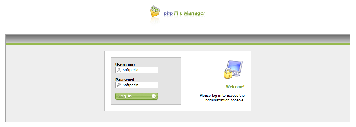 php File Manager screenshot 1