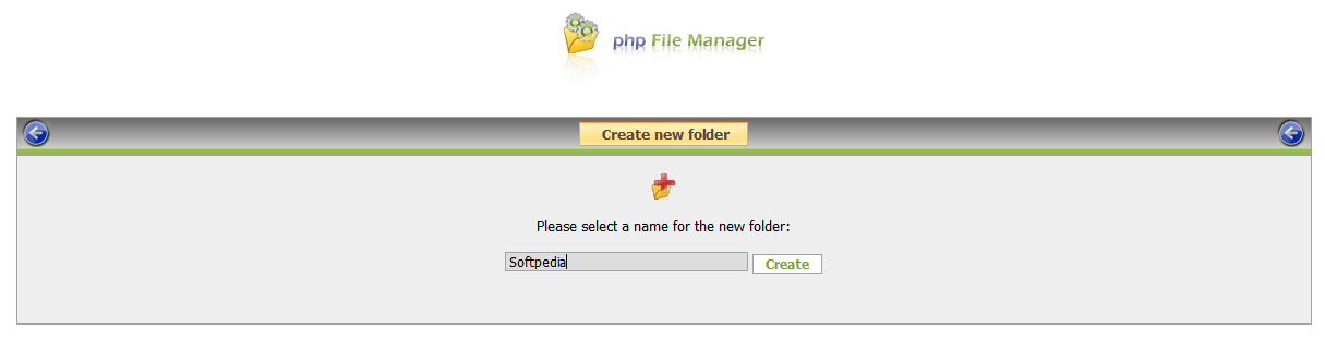php File Manager screenshot 11