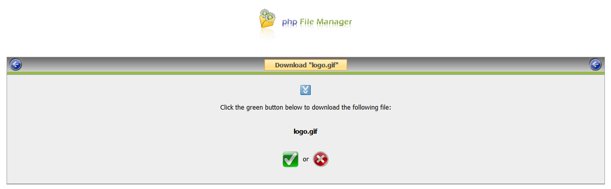 php File Manager screenshot 8