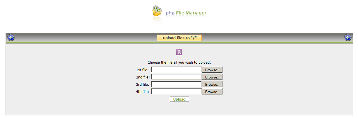 php File Manager screenshot 9