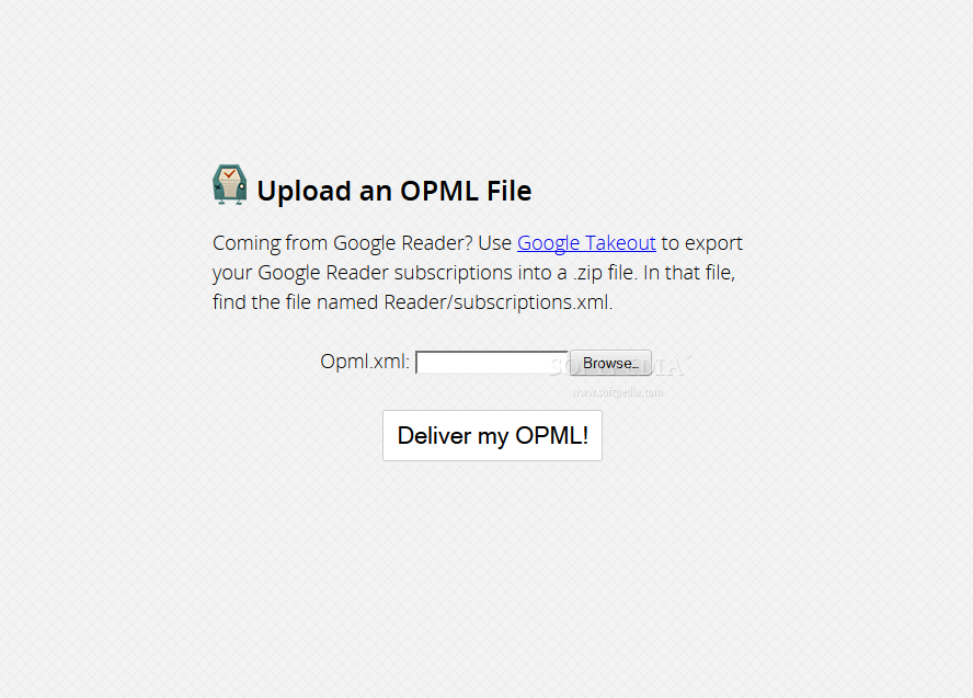 selfoss - selfoss also supports OPML imports from Google Reader