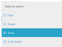 bootstrap dropdown select