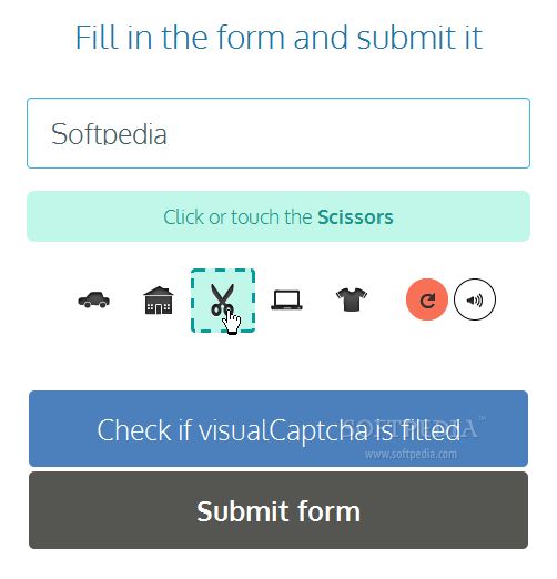 visualCaptcha for Ruby - visualCaptcha for Ruby is a very simple to use CAPTCHA plugin for Web forms